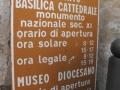 14-OTRANTO - LA CATTEDRALE (GLI ORARI DI APERTURA).