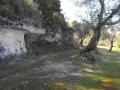 CRIPTA SANT'ANGELO - CASAMASSELLA - COSTONE ADIACENTE ALLA CRIPTA