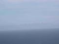 PORTO BADISCO-ALL'ORIZZONTE SI VEDONO LE MONTAGNE ALBANESI RICOPERTE DI NEVE - PRIMI DI OTTOBRE 2018