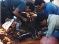 2 -Marco Merico e i suoi colleghi durante i lavori archeologici - FOTO COSIMO RUBRICHI(3)